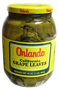 California Grape Leaves -Orlando 2lb jar, DR.WT. 16oz