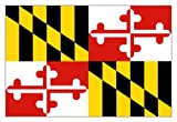 Maryland (USA State) Flag 5ft x 3ft