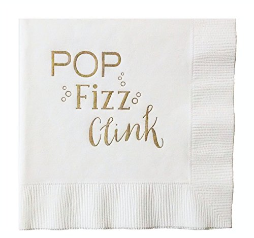 POP Fizz Clink Napkins - 20 pack