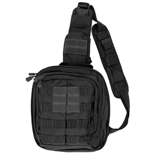 5.11 RUSH MOAB 6 Sling Tactical Bag Shoulder MOLLE Pack Black
