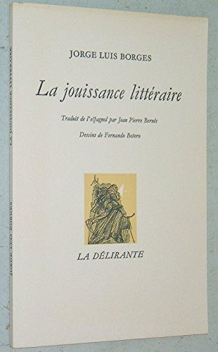 La jouissance littéraire