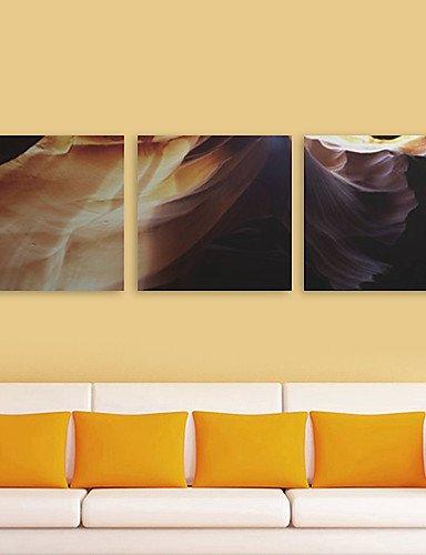 Generico CHINT tela tesa Stampa paesaggio arte Dune Set di 3 NL932