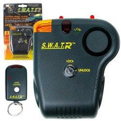 Trademark 72-1481 Steering Wheel Auto Alarm with Remote Control (Steering Wheel Car Alarm compare prices)