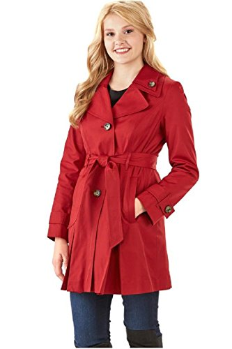 london-fog-womens-single-breasted-double-collar-trench-coat-x-large-chili-pepper