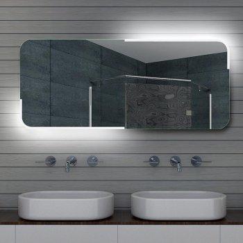 Design Bagno LED specchio specchio luce specchio specchio da parete, 140x60