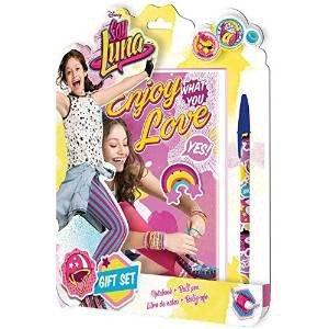 Soy Luna - Blíster bloc notas + bolígrafo (Kids WD18029)