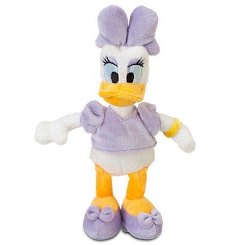 Disney Daisy Duck Plush - Mini Bean Bag 9'' - 1