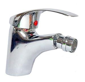 Miscelatore rubinetto bagno bidet monocomando per lavello - Rubinetti per il bagno ...