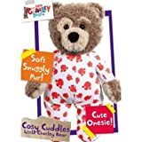 Little Charley Bear Cosy Cuddles - Red Paw Print