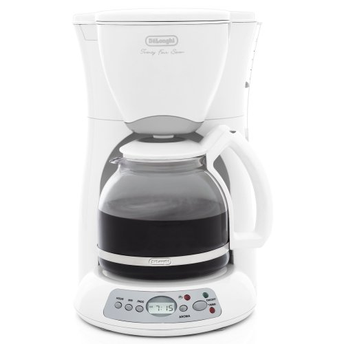Delonghi Drip Coffee Maker : Delonghi Coffee Makers: Delonghi DC59TW 12 Cup Drip Coffee Maker