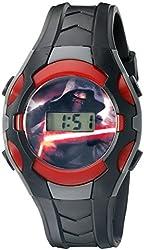 Star Wars Star Wars Kids' SWM3018 Digital Display Analog Quartz Black Watch