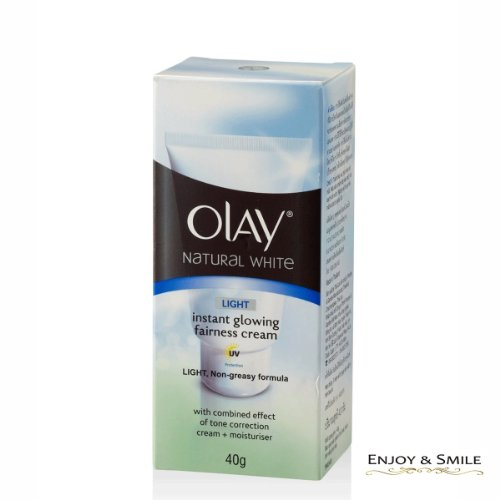 OLAY NATURAL WHITE skin sunscreen mix Light Instant Glow Wellness Fair runs 40G.