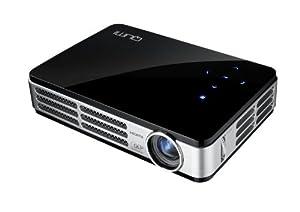 Vivitek qumi q2 300 lumen wxga hdmi 3d ready for Texas instruments mini projector