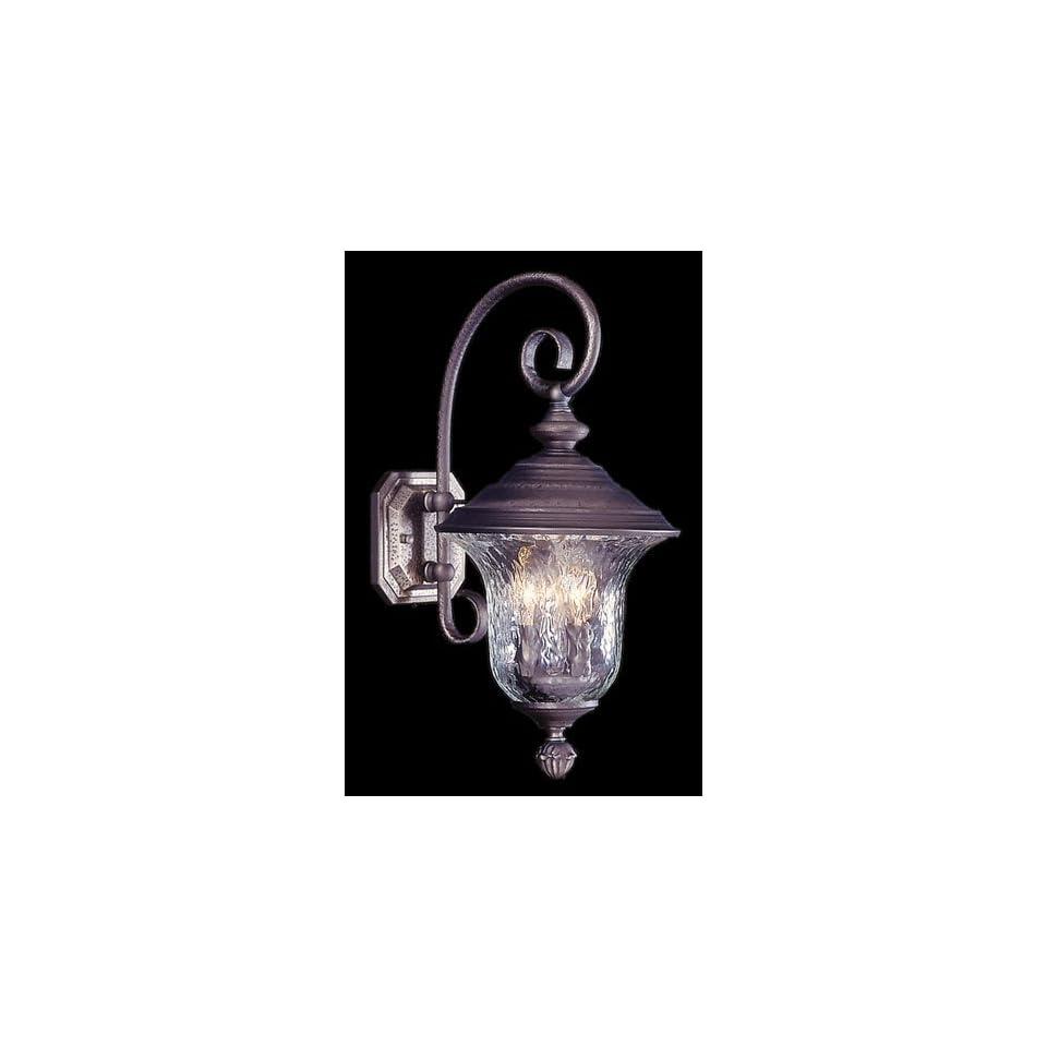 HA Framburg 8320SBR Carcassonne 3 Light Outdoor Ceiling Lights in Siena Bronze