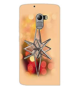 PrintDhaba Crystal Flower D-2419 Back Case Cover for LENOVO K4 NOTE A7010a48 (Multi-Coloured)