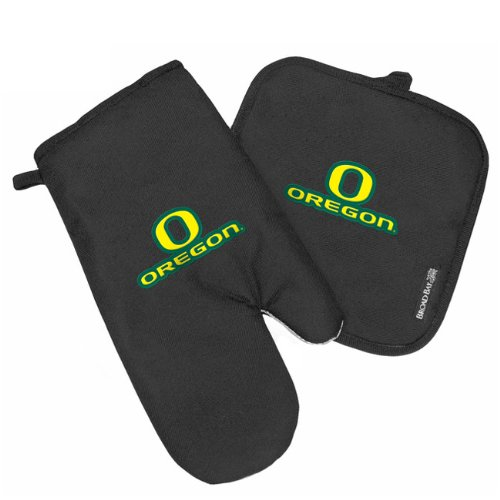 University Of Oregon Mitt Potholder Set Uo Ducks Kitchen Tailgating Or Barbecue Pot Holder College Ncaa Licensed