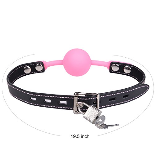 Utimi SM Ball Gag with Lock and Nipple Clamps from UTIMI