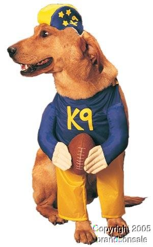 Pet Football Player Dog Costume For Large Dogs