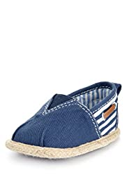 Stripe Slip-On Espadrilles