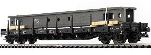 H0-Rungenwagen-DB-Cargo-mit-Ladung-Krananlage-mrklin-47046