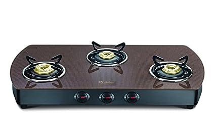 Prestige Premia Contemporary Gas Cooktop (3 Burner)