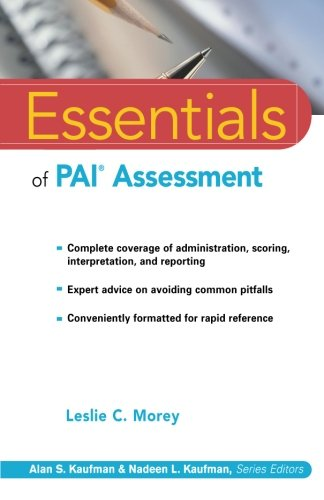 Essentials of PAI Assessment