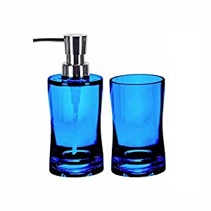 Bathroom Soap Dispenser Set 2 Pieces Liquid Soap Lotion Dispenser And Bathroom