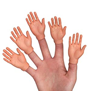 finger hands by archie mcphee   accoutrements   latest