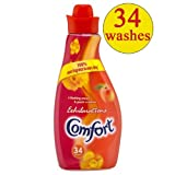 Comfort Exhilarations Poppy Fabric Conditioner 34 Wash 4x1.2L