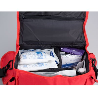 First Aid Only First Responder Kit, Large Red Bag, 158 Pieces from First Aid Only