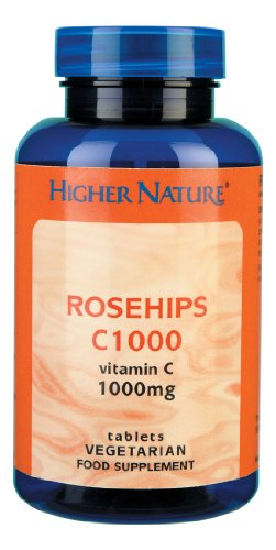 Higher Nature Rosehips C1000mg Pack of 30
