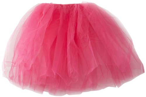 Capezio Little Girls' Romantic Tutu, Hot Pink, One Size front-857211
