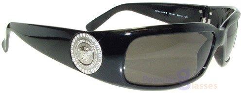 Versace sunglasses VE4044B GB1/87 Shiny Black/Grey