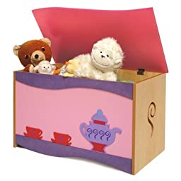 Little Girl Teaset Toy Box