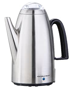 Hamilton Beach Percolator with Detachable Cord