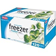 Presto Products GKL00507 Presto Value Pak Freezer Bag-QT RECLOSE V120 FRZR BAG