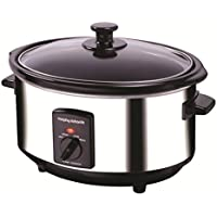 Morphy Richards 48710 Oval Slow Cooker 3.5 Litres - Stainless Steel