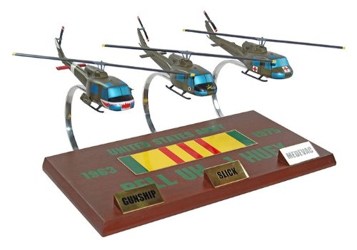 Actionjetz Vietman Huey Collection Model Airplane front-1036064