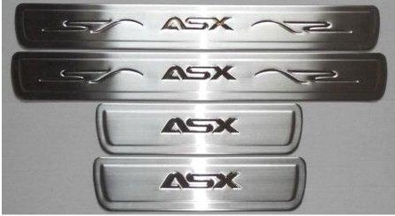 accessoires-pour-mitsubishi-asx-baguettes-de-seuil-de-porte-en-inox-chrome-inscription