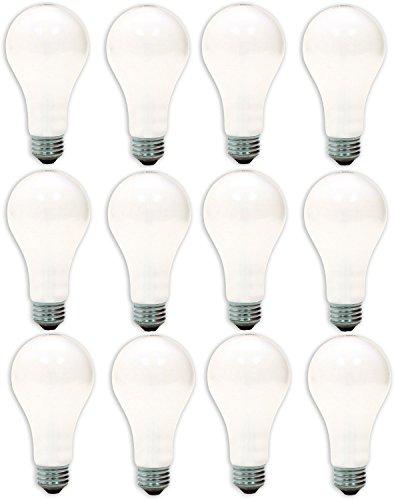 Ge Lighting 72859 Soft White 3-Way 50/100/150-Watt, 560/1400/1960-Lumen A21 Light Bulb With Medium Base, 12-Pack