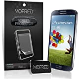 MOFRED� 6 in Pack Screen Protector Value Pack For Samsung Galaxy S4 IV i9500 Retail Packed with Cleaning Cloth And Application Card