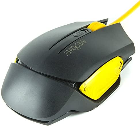 JamesDonkey有線マウス 3DPIモード 2000DPI 高精度 光学式 6ボタンマウス コンパクト ブラック