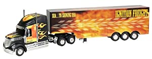 "Kid Galaxy RC Tractor Trailer ""Flames"""