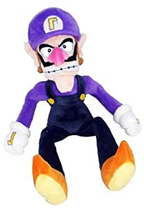 "Nintendo Super Mario Waluigi Plush Doll Around 30cm 12"""