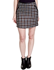 Limited Edition Checked Mini Skirt