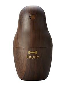 BRUNO パーソナル超音波加湿器 マトリョーシカ ダークウッド BDE010-DW