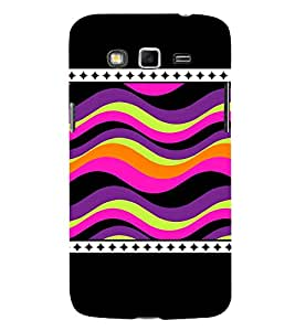 Wave Pattern 3D Hard Polycarbonate Designer Back Case Cover for Samsung Galaxy Grand Neo :: Samsung Galaxy Grand Neo i9060