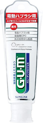 GUM 電動ハブラシ用 デンタルジェル 65g