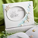 Finishing Touches Collection Beach Themed Wedding Guest Book, 1 piece