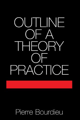 Outline of a Theory of Practice (Cambridge Studies in...
